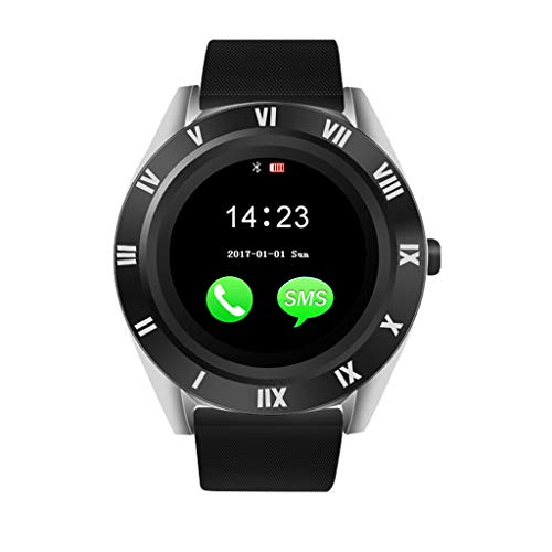 Price comparison product image MChoiceBlueteeth Smart Watch Camera Phone Mate 4G GSM SIM TF Ca for Android for Samsung (Black)