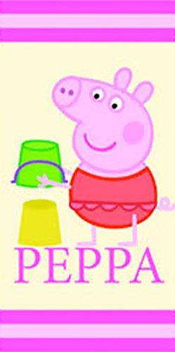 Peppa Pig-Toalla de playa, diseño de vacaciones de Peppa Pig