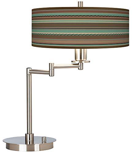 Southwest Shore Giclee CFL Swing Arm Desk Lamp - Giclee Gallery
