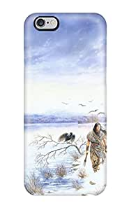 3677168K45077911 Tpu Case Skin Protector For Iphone 6 Plus Drawing With Nice Appearance