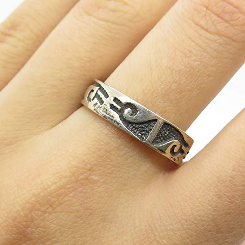 Tribal Band Ring Size 9 DG-556