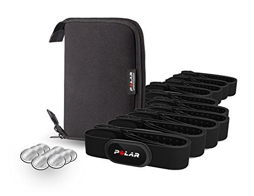 Polar H10 Bluetooth Heart Rate Monitor 10-Kit, Black, Medium/XX-Large