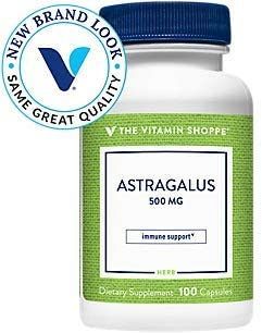 Astragalus Root 500mg Herbal Supplement to Support The Immune System Body's Natural Defenses Helps Build Stamina
