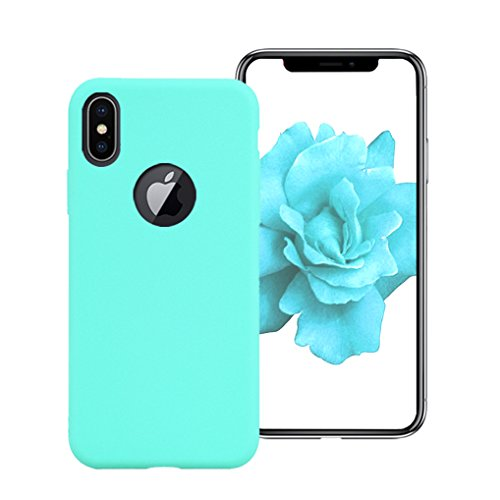 custodia in tpu iphone x verde