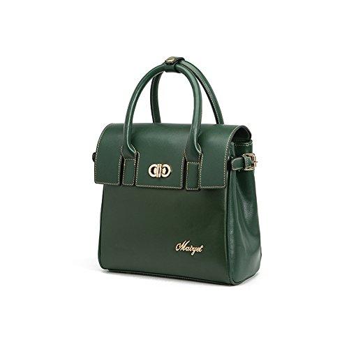 Fashion Pu Woman's Shoulder Bag Tote Bag Dual Purpose Package (army Green) W84240