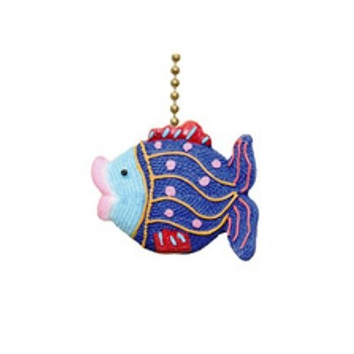 Tropical Fish Lips Cute Underwater Nautical Ceiling Fan (Fish Ceiling Fan Pull)