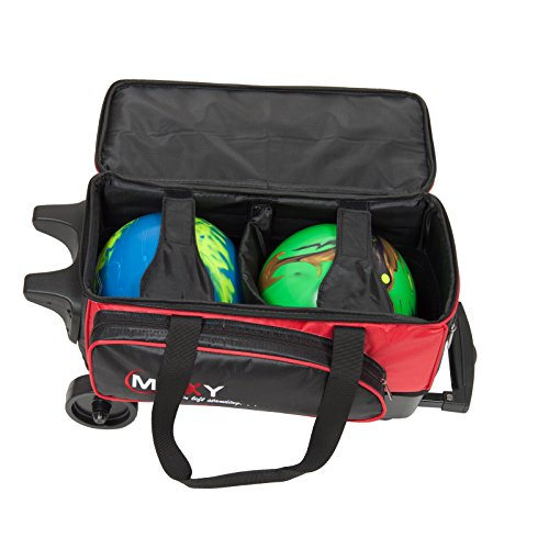 Moxy Double Roller Bowling Bag -RED Sporting Goods Indoor ...