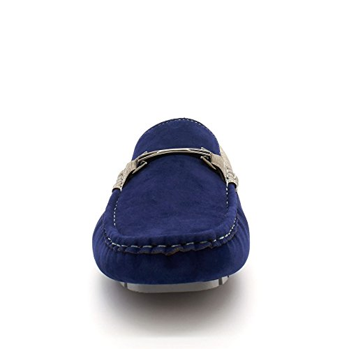 Herren Sandalen Plateau Keilabsatz Blau London mit Durchgängies Footwear gZqxwgP58
