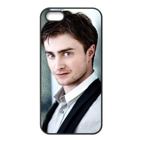 Daniel Radcliffe 003 coque iPhone 5 5S cellulaire cas coque de téléphone cas téléphone cellulaire noir couvercle EOKXLLNCD23036