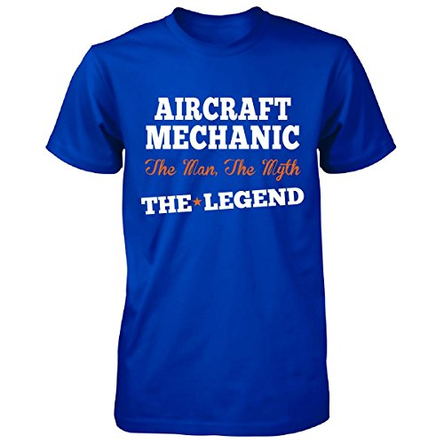 Aircraft Mechanic The Man, The Myth The Legend Funny Gift - Unisex Tshirt