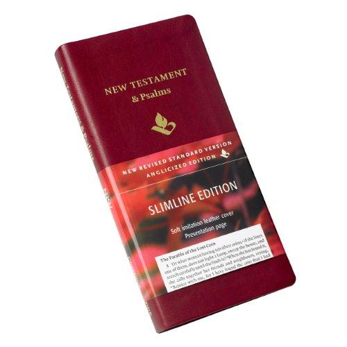 NRSV New Testament and Psalms NR012:NP burgundy imitation leather pdf epub