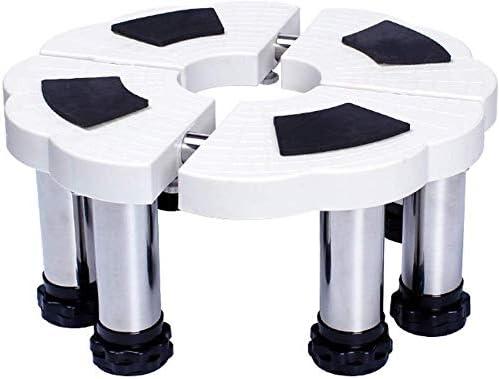 調節可能な空調ベースブラケットキャビネットマシン昇降棚円筒(色:高さ24-27 cm)