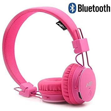 Multifuncional inalámbrico auriculares, GranVela X2 Plegable auriculares Bluetooth auriculares apoyo a micro SD tarjeta reproductor