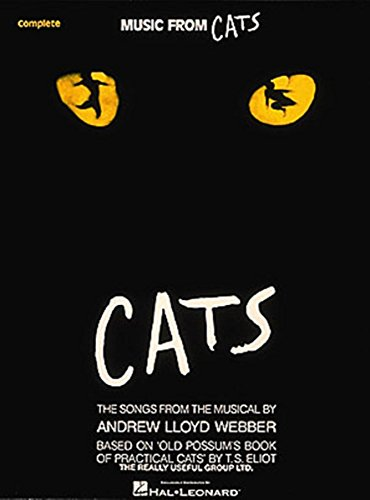 - Music from Cats Vocal Arrangements with Piano Accompaniment