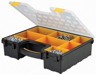 Storehouse 8 Bin Portable Parts Storage Case