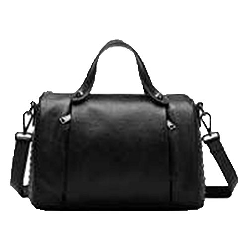 Leather Nails Leather Europe Wind United Messenger Portable 2018 States Summer And Baotou Black Bag Bag Handbags Layer Shoulder The Pillow New EOqqIxwp
