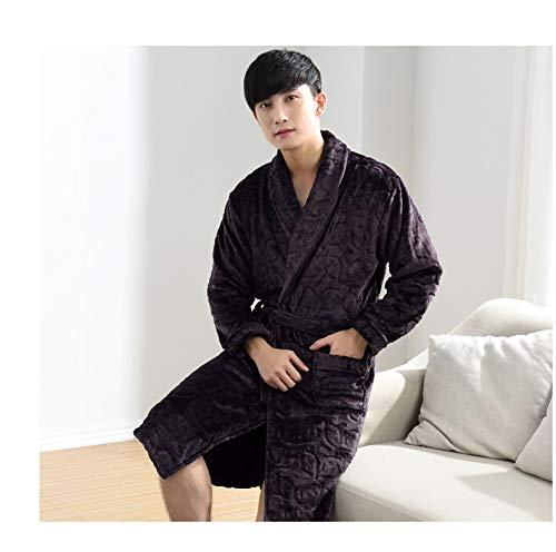 180cm Spesso Lungo Pigiama Uomo Cotone Robe 80kg Kimono Trapuntato E L 70kg Autunno Inverno Bathrobex 60 170cm In 175 70 165 Accappatoio Xl vRFxPn