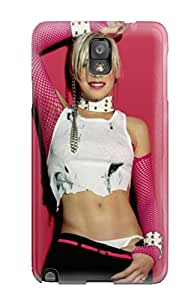 Awesome Case Cover/galaxy Note 3 Defender Case Cover(babe Music)