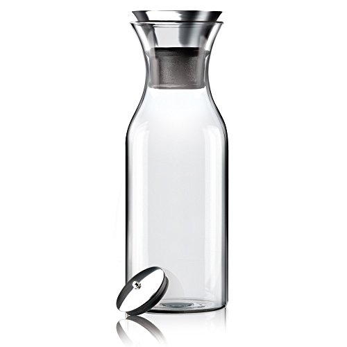 Amazoncom Hiware 35 Oz Glass Drip Free Carafe With Stainless