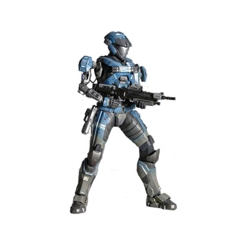 Arts Play 2 Action Figure (Halo Reach Square Enix Play Arts Kai Series 2 Action Figure Lieutenant Commander Kat)