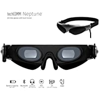 TechComm Neptune 2D Video Glasses for Any Device with Noise Reduction