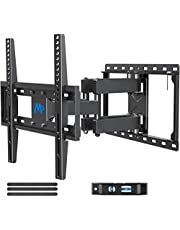 """Mounting Dream TV Wall Mount for Most 26-55"""" Flat Screen TV , Some New TVs up to 65"""" , TV Mount Full Motion with Dual Swivel Articulating Arms , Easy for TV Centering , Max VESA 400x400mm , 99 lbs Loading MD2380"""