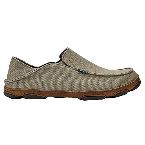 OLUKAI Men's Moloa Kapa Slip On Clay/Toffee 10