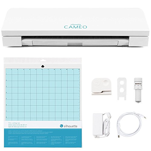 Silhouette Cameo 3 White Bluetooth Starter Bundle with 26 Oracal Vinyl Sheets, Transfer Paper, Class, Guide and 24 Sketch Pens by Silhouette America (Image #6)