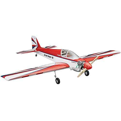Great Planes Model Manufacturing Ultra Sport Almost-Ready-To-Fly .46 Glow-Powered/Electric-Powered Radio Control Aerobatic Airplane (Aerobatic Rc Remote Controlled Airplane)