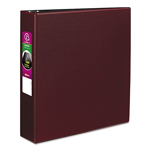 Avery 27552 Durable Binder with Slant Rings, 11 x 8 1/2, 2