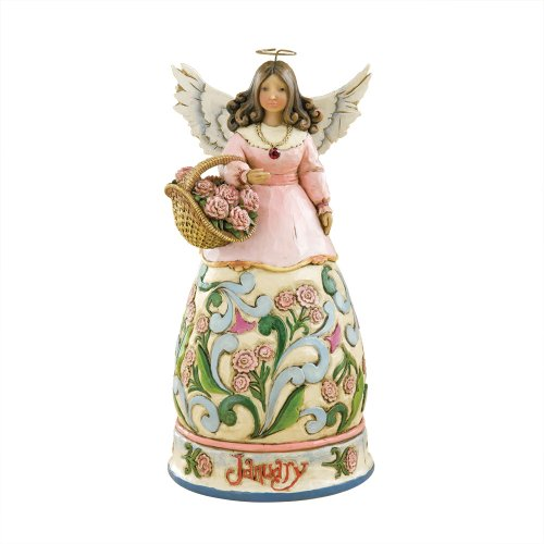 Heartwood Monthly Figurine January 4 Inch