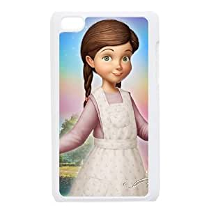 iPod Touch 4 Case White Disney Tinker Bell and the Great Fairy Rescue Character Lizzy Griffths 006 YT1251856
