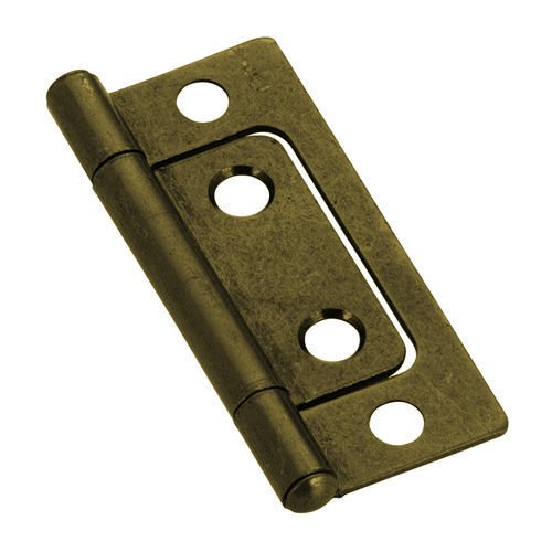 Brass Antique Hinge Butt - Non-Mortise Antique Brass Hinge 2