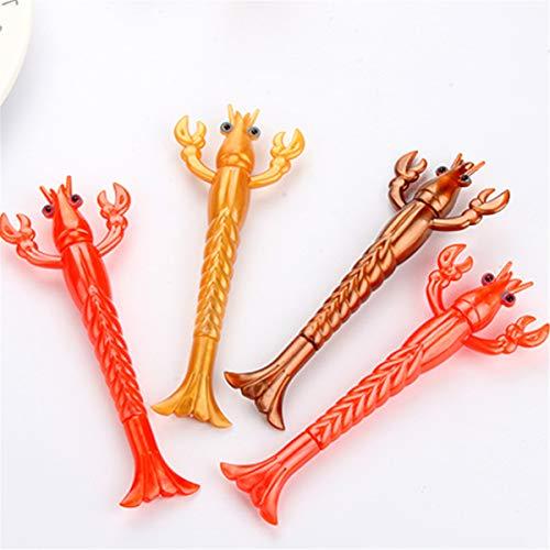 (Animal Lobster Shape Originality Fashion Designed Gel Pens Cartoon ballpoint pen,Cute Creative Stationery and Office Supplies)