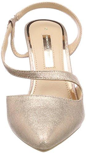 Con Granite Dorado Mujer Punta gold Perkins Dorothy Cerrada 210 Para Tacn De Zapatos x5qwXwvHU