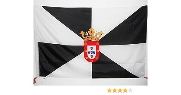 AZ FLAG Bandera de Ceuta 150x90cm para Palo - Bandera ESPAÑOLA - ESPAÑA 90 x 150 cm: Amazon.es: Hogar