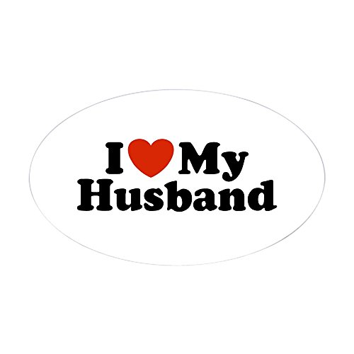 i love my husband bumper sticker - 4