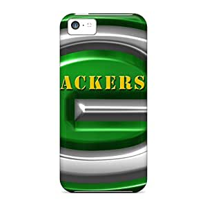 Unique Design Iphone 5c Durable Tpu Case Cover Green Bay Packers