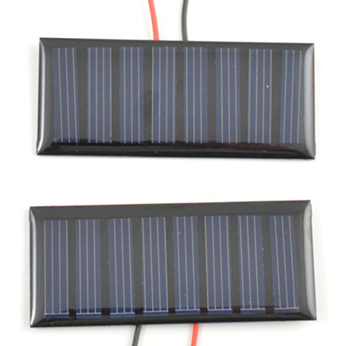 Small Solar Panel 4.0V 50mA with wires – 2 pack For Sale