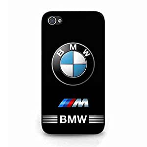 BMW Car Funda Cover For iPhone 4/iPhone 4S Funda Luxury Brand Car Logo Funda Black Series Car Skin MK014