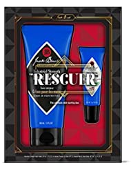 JACK BLACK - The Rescuer Set - Industrial Strength Hand Healer, Intense Therapy Lip Balm SPF 25. 2-Piece Kit.