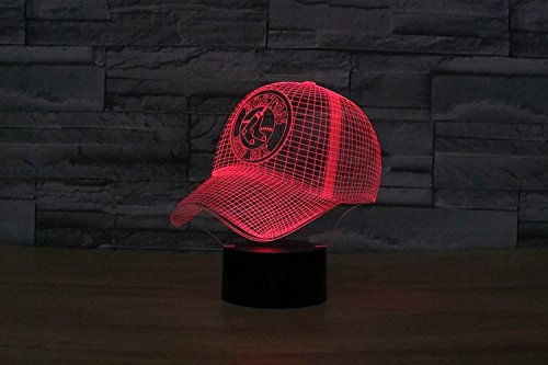 sports nightlight customsports hologram redsox product image