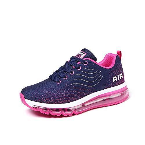 Baskets De Extérieurs 35 44 Femme Coussin Rose D'air Gym Fitness Homme Sneakers Sport Mode Multisports Chaussure Activités Course FIwvdI