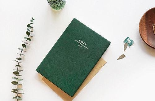 PAPERIAN 2018 EDIT L Planner Journal Monthly Weekly Yearly Scheduler Organize