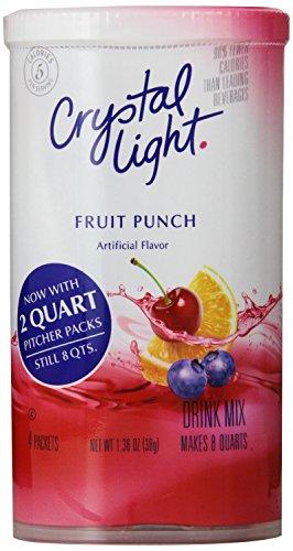 Crystal Light Fruit Punch Drink Mix (8-Quart), 1.36-Ounce...