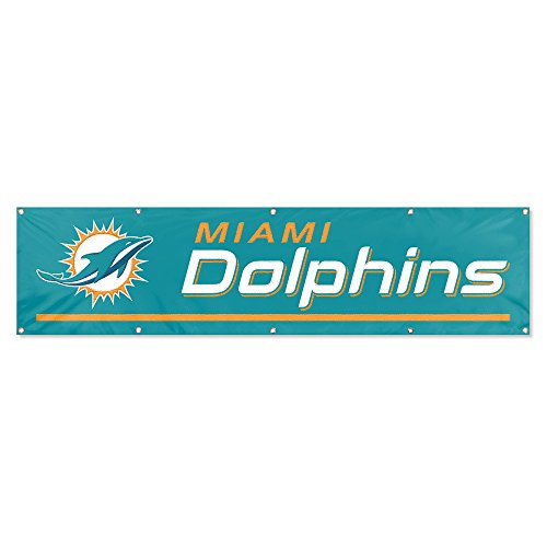 Party Animal Miami Dolphins 8'x2' NFL Banner