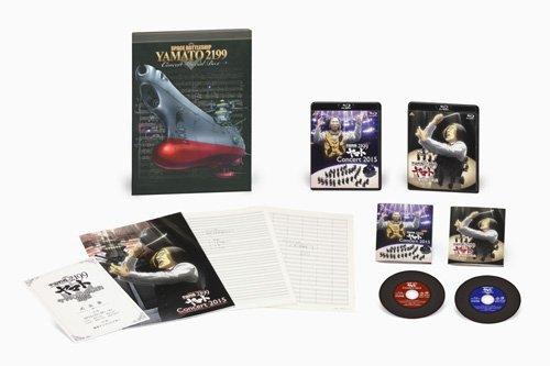 宇宙戦艦ヤマト2199 コンサート2015 & ヤマト音楽団大式典2012 (特装限定版) [Blu-ray] B0148I8JJS