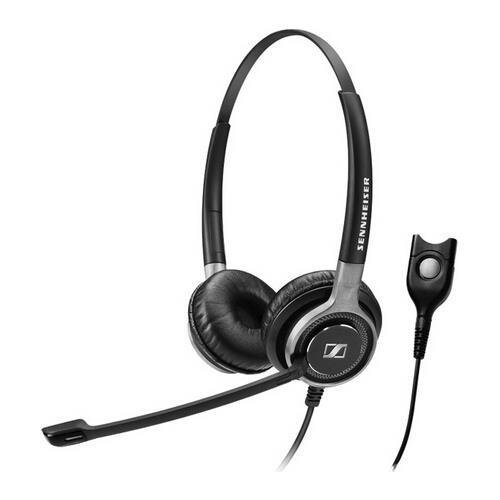 660 Stereo (Sennheiser Electronic Corporation - Sennheiser Century Sc 660 Headset - Stereo - Black, Silver - Easy Disconnect - Wired - 200 Ohm - 50 Hz - 18 Khz - Over-The-Head - Binaural - Circumaural - 3.28 Ft Cable - Noise Cancelling Microphone