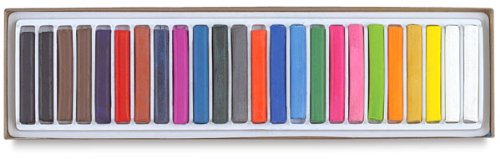 (Prang Pastello Art Chalk for Paper, 24 Assorted Colors per Box)