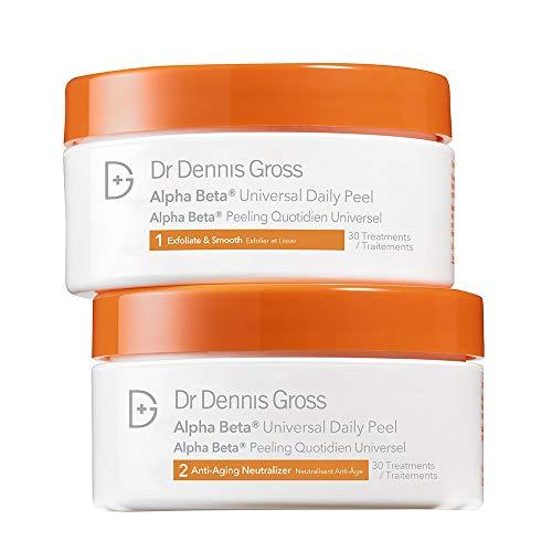 Dr. Dennis Gross Skincare Alpha Beta Peel, Original Strength, 30 Count Jar (Best Beta Hydroxy Pads)